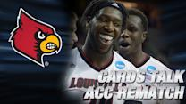 Louisville & Rick Pitino Talk NC State Sweet 16 Rematch   ACC Road to Indy