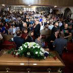 Strangers come for miles to mourn El Paso shooting victim Margie Reckard