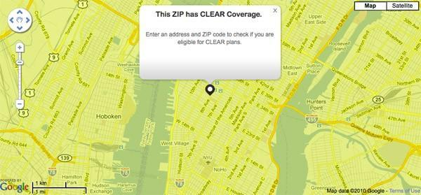 Clear WiMAX is live in New York City (updated: semi-live)