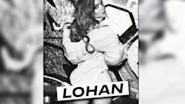 Cheeky Lindsay Lohan sheds her clothes once again