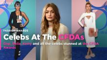 Celebs at the CFDAs