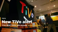 TiVo's upcoming DVR, the TiVo BOLT VOX, will include voice support