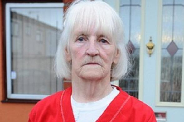 """Maggie Surridge employed Lee Slocombe to lay a £350 deck in her garden in March 2015. However Slocombe used a combination of lies to scam Surridge out of thousands of pounds. He told Surridge that the front and back walls were dangerous and needed rebuilding and also conned her into building a porch, all for the cost of £8,500. Read the full story <a href=""""http://money.aol.co.uk/2015/02/27/cowboy-builder-jailed-for-terrible-lies-that-ripped-off-sick-pen/"""">here</a>."""