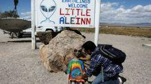'Storm' Area 51: UFO enthusiasts descend on area near secret US military site