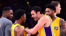 Nick Young stole a pass from a Lakers teammate to nail a game-winner