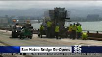 Both Directions Of San Mateo-Hayward Bridge Now Open