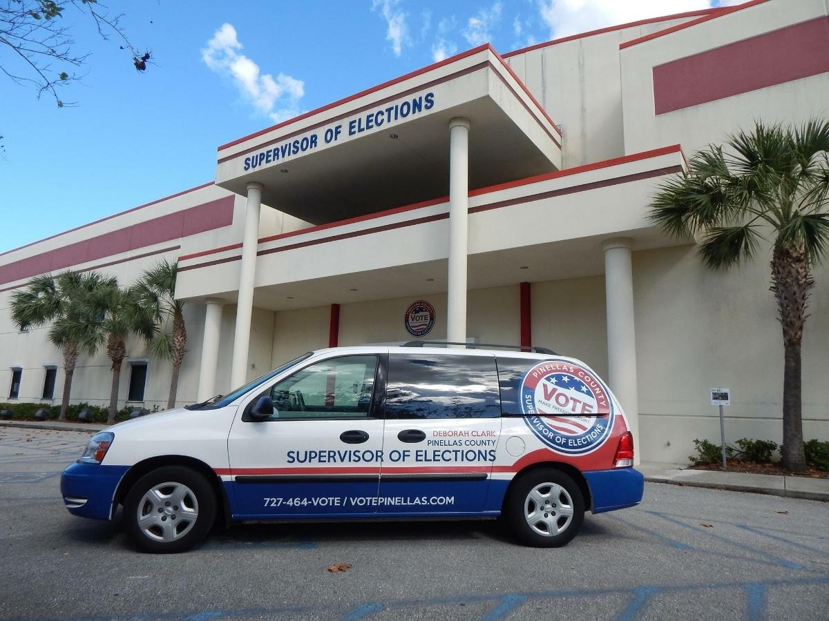 Pinellas County early voting begins Monday, Oct. 19.