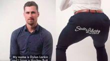 """NHL-Star Dylan Larkin macht das Internet mit seinem """"Hockey-Hintern"""" verrückt"""