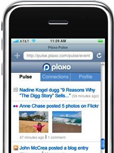 Plaxo improves Address Book sync and adds iPhone UI