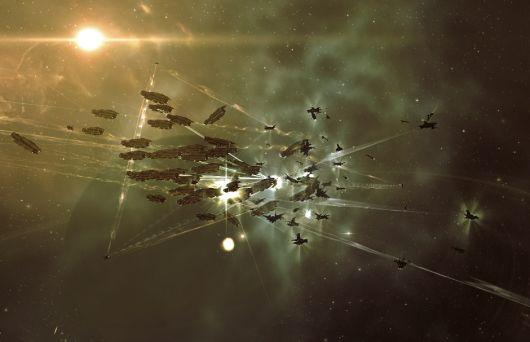 Using EVE Online to predict the recession
