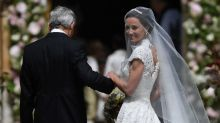 Pippa Middleton marries James Matthews in Giles Deacon wedding dress