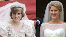 Princess Diana's niece wears Spencer tiara