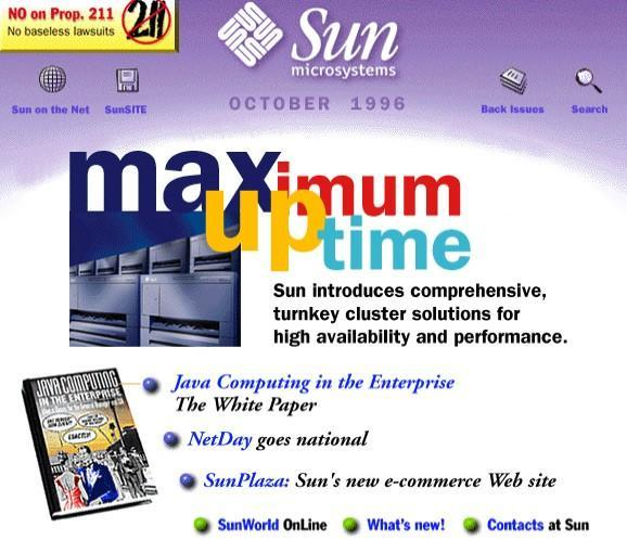 Sun.com, the twelfth oldest domain on the internet, will be decommissioned on June 1st