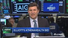 Elliott bids for Athenahealth in all-cash offer