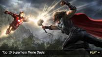 Top 10 Superhero Movie Duels