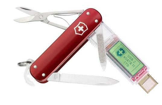 Victorinox SSD official: up to 1TB of high-speed storage crammed in a Swiss Army Knife (Update)