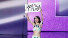 La única sorpresa de los Goya 2020 fue una espontánea semi-desnuda… ¡y era falsa!