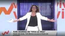 El comentario que todos están haciendo por lo que ha hecho Toñi Moreno en su regreso a 'Viva La Vida'