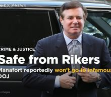 Paul Manafort reportedly won't go to Rikers Island prison, thanks to the Justice Department