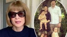 Anna Wintour's doctor son 'quite ill' with coronavirus