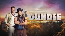 This new Crocodile Dundee movie is probably a Super Bowl joke