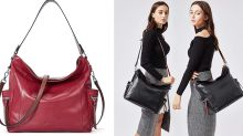 These leather handbags are 30% off on Amazon