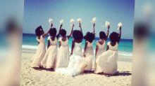 Las fotos de una boda con el pelo a lo afro que arrasan en internet