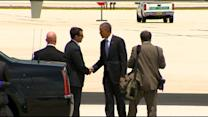 WebExtra: President Obama's Departure From Miami