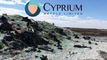 Cyprium Metals Ltd (CYM.AX) Quarterly Activities Report