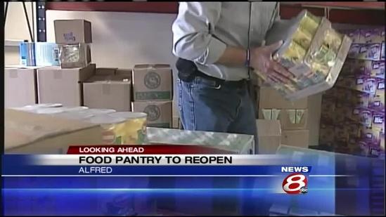 York Co. Food Rescue moves into new home in Alfred