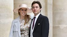 A new, unseen picture from the night before Princess Beatrice's wedding has been shared