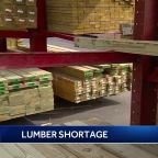 Pandemic creating lumber shortage