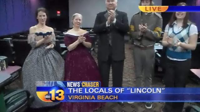 Hampton Roads actors took part in Oscar-nominated LINCOLN