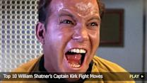 Top 10 William Shatner'€™s Captain Kirk Fight Moves