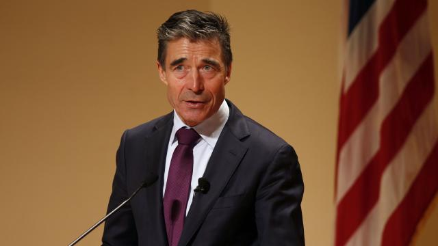 Secretary General of NATO says Ukraine crisis shows Russia is ripping up international rule book