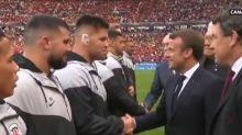 Top 14 : un joueur toulousain demande la nationalité française à Macron juste avant la finale