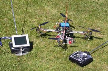 Quadrocopter project takes aerial photography open source