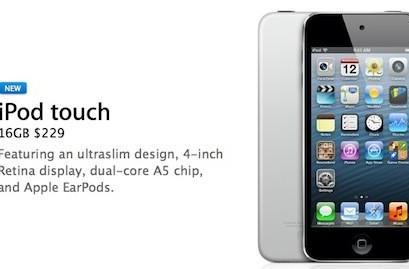 Apple introduces new iPod touch without rear camera for $229