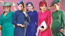 Kate, Meghan, and Pippa glowed in jewel tones at the royal wedding: Shop their looks