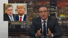 John Oliver: 'Laura Ingraham is right' about Trump's relationship with Barr