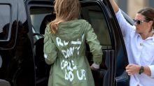 Nach Melania Trumps Jacken-Panne: Michelle Obamas Stylistin postet cooles Statement