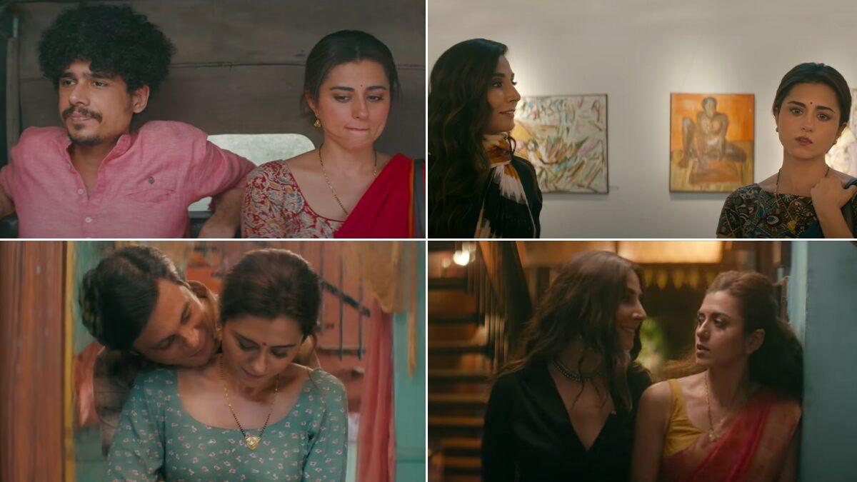The Married Woman Teaser: Ridhi Dogra Is Trying to Look For a Lost Piece of  Herself Which She Finds in Monica Dogra (Watch Video)