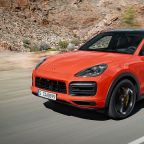 The 2020 Porsche Cayenne Coupe Shows Off Its Shapelier Silhouette