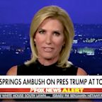 """Laura Ingraham calls Trump's town hall an """"ambush"""" after he takes questions from undecided voters"""