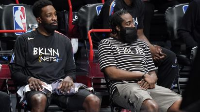 Harden out indefinitely with hamstring injury