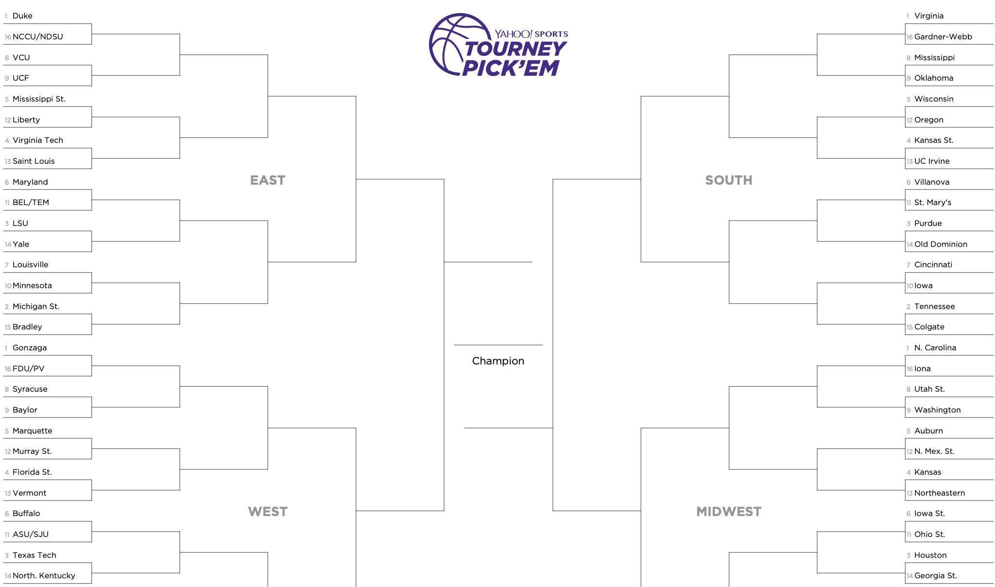March Madness Tutorial How To Fill Out Your Ncaa Bracket