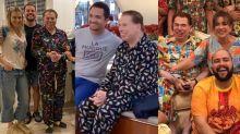 Gente como a gente: Silvio Santos usa pijama em todas as ocasiões