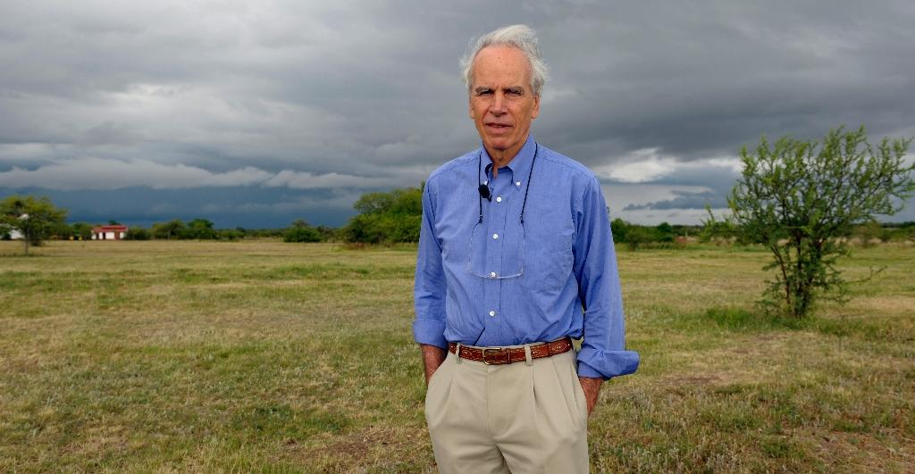 Co-founder of the outdoor label The North Face, US billionaire Douglas Tompkins, pictured on November 5, 2009, has died at 72 (AFP Photo/Daniel Garcia)