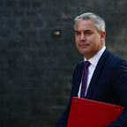 UK Brexit minister Barclay: I told Barnier could not see unchanged Brexit deal being approved
