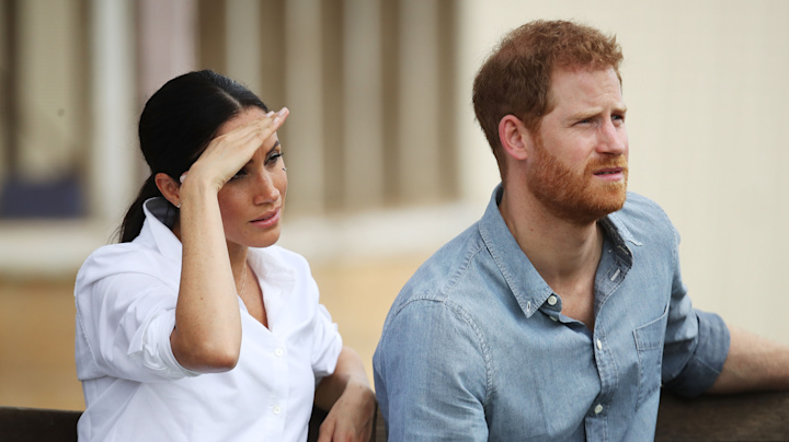 Pregnant Meghan admits to being 'tired' on day two of tour